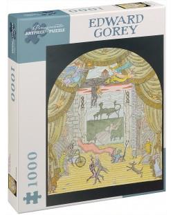 Puzzle Pomegranate de 1000 piese - Teatru, Edward Gorey