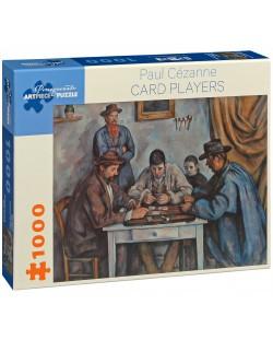 Puzzle Pomegranate de 1000 piese - Jucatori de carti, Paul Cézanne