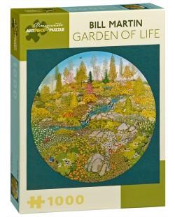Puzzle Pomegranate de 1000 piese - Gradina vietii, Bill Martin