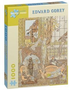 Puzzle Pomegranate de 1000 piese - Frawgge Mfrg Cо, Edward Gorey