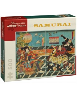 Puzzle Pomegranate de 500 piese – Samurai, Utagawa Kunisada I