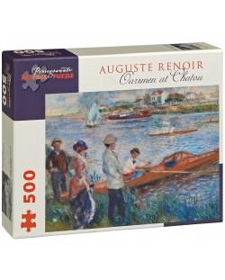 Puzzle Pomegranate de 500 piese - Vaslasi in Chatou, Pierre Renoir
