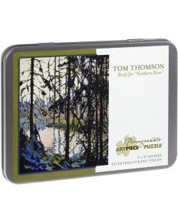 Puzzle Pomegranate de 100 piese - Studiul Raului nordic, Tom Thomson