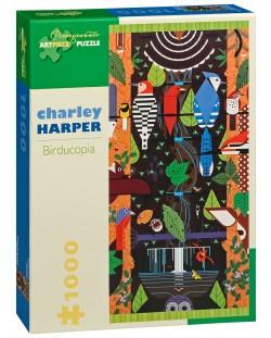 Puzzle Pomegranate de 1000 piese - Birducopia, Charley Harper