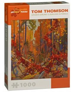 Puzzle Pomegranate de 1000 piese - Coroana toamnei, Tom Thomson