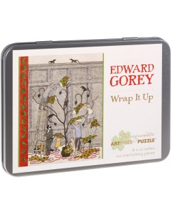 Puzzle Pomegranate de 100 piese - Impacheteaza-l, Edward Gorey
