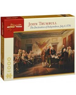 Puzzle Pomegranate de 1000 piese - Declaratia de independenta, John Trumbull