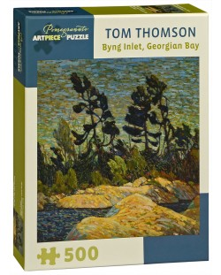 Puzzle Pomegranate de 500 piese - Byng Inlet,, Tom Thomson