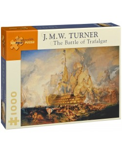 Puzzle Pomegranate de 1000 piese - Batalia de la Trafalgar, Joseph Turner