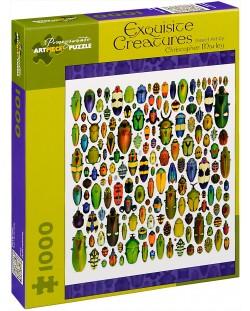 Puzzle Pomegranate de 1000 piese - Creaturi rafinate, Christopher Marley