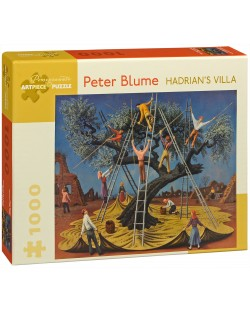 Puzzle Pomegranate de 1000 piese - Vila Adriana, Peter Bloome