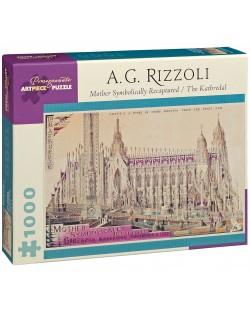Puzzle Pomegranate de 1000 piese - Mama, recreat, A.G. Rozzoli