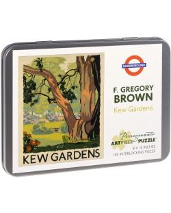 Puzzle Pomegranate de 100 piese - Gradina botanica regala, Gregory Brawn