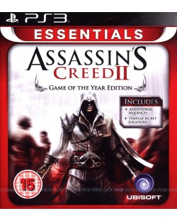 Assassin's Creed II GOTY - Essentials (PS3)