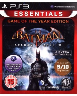 Batman: Arkham Asylum GOTY - Essentials (PS3)