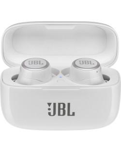 Casti wireless JBL - LIVE 300, TWS, albe