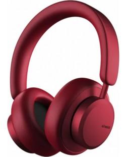 Casti wireless cu microfon Urbanista - Miami, ANC, rosii