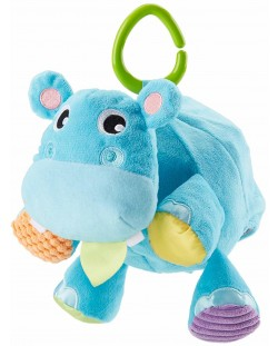 Jucarie pentru bebelusi Fisher Price - Hipopotam, 2 in 1