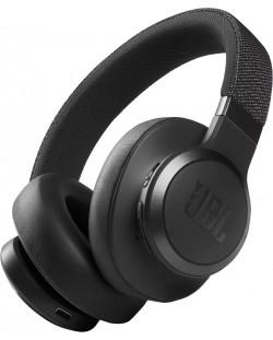 Casti wireless cu microfon JBL- LIVE 660NC, negre