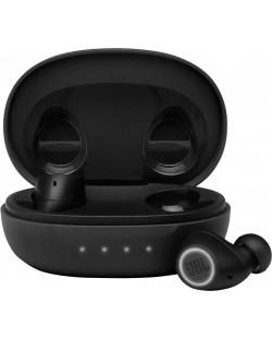 Casti wireless cu microfon JBL - FREE II, TWS, negre