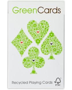 Carti de joc GreenCards - Recycled Playing Cards