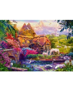 Puzzle Bluebird de 1000 piese - Old Mill, Jan Patrik Krasny