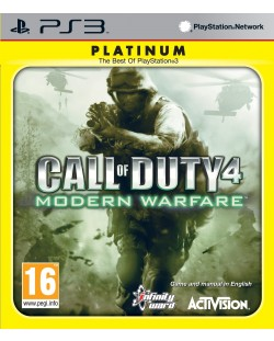 Call of Duty 4 Modern Warfare - Platinum (PS3)