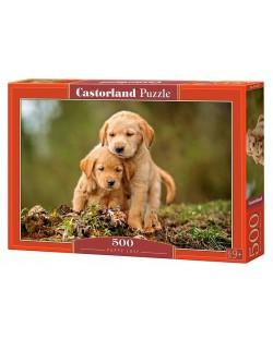 Puzzle Castorland de 500 piese - Labute ibitoare