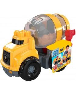 Set de construit pentru copii Mega Bloks - Cat Cement Mixer