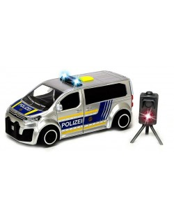 Jucarie pentru copii Dickie Toys  SOS Series - Van de politie cu radar, 1:32