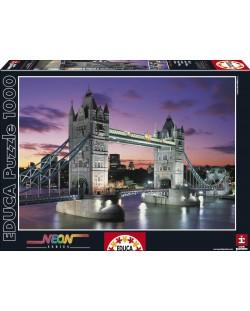 Puzzle neon Educa de 1000 piese - Tower Bridge, Londra