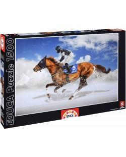 Puzzle Educa de 1500 piese - Curse de cai