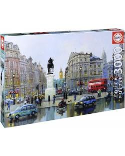 Puzzle Educa de 3000 piese - Charing, Londra, Aleksander Chen