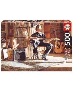 Puzzle Educa de 500 piese - Timpul pentru muzica