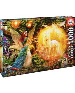 Puzzle Educa de 1000 piese - Padurea magica