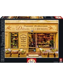 Puzzle Educa de 2000 piese - Ispite din Luberon