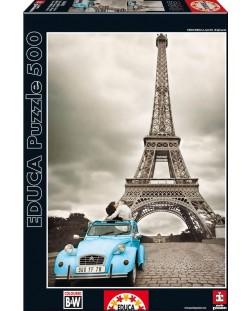 Puzzle Educa de 500 piese - Turnul Eiffel, Paris