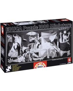 Puzzle Educa de 1000 piese mini - Guernica, Pablo Picasso