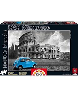 Puzzle Educa de 1000 piese mini - Colosseum, Roma, miniatura