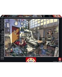 Puzzle Educa de 1000 piese - Primavara, Arly Jones