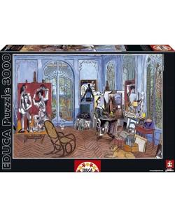Puzzle Educa de 3000 piese - Atelierul lui Picasso
