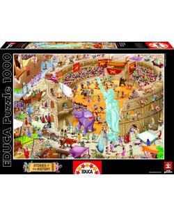 Puzzle Educa de 1000 piese - Roma antica