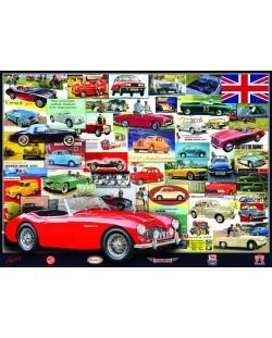 Puzzle Eurographics de 1000 piese – Colectie de British Motor Heritage