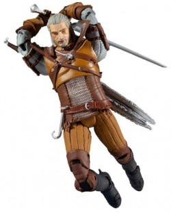 Figurina de actiune McFarlane Games: The Witcher - Geralt of Rivia (Gold Label Series), 18 cm