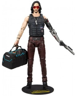 Figurina de actiune McFarlane Cyberpunk 2077 - Johnny Silverhand,18 cm