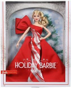 Papusa de colectie Mattel Barbie - Holiday