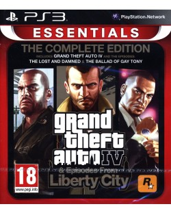 Grand Theft Auto IV - Complete Edition (PS3)