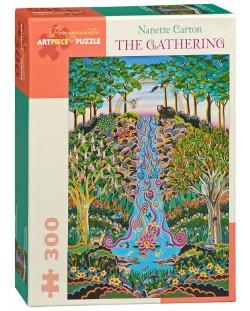 Puzzle Pomegranate de 300 piese - Adunarea, Nanette Carton
