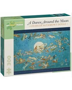 Puzzle Pomegranate de 300 piese - Dans In jurul lunii, Charles Doyle