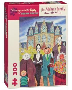 Puzzle Pomegranate de 300 piese - Familia Adams, Charles Addams